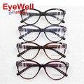 2016 Novas Mulheres Da Moda Frame Ótico TR90 Grande Rodada Do Vintage óculos de Miopia Óptico Óculos Óculos de Prescrição 5853