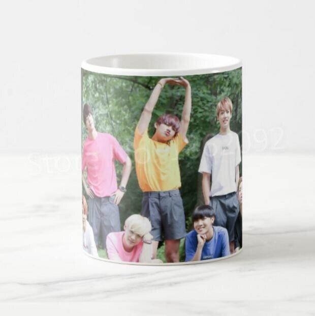 US $14 99 |New Bangtan Boys BTS Gifts Kpop BTS Festa Coffee Mug Cup Ceramic  BTS Bangtan Boys Milk Tea Mugs Christmas Birthday Present 11OZ-in Mugs