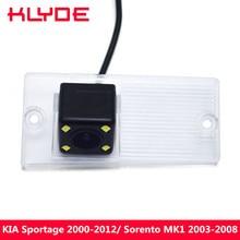 KLYDE Carro Rear View Reversa Estacionamento Camera Para Kia Sportage 2000 2001 2002 2005 2006 2007 2008 2009 2010 2011 2012/Sorento MK1