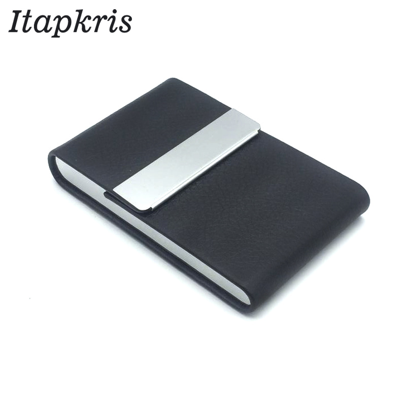 Fashion ID Business Name Cardholder Wallet Women Men Credit Card Holder Travel Card Holder Organizer 2018 hot sale original dooya home automation electric curtain motor dt52e 45w with remote control