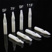 Nozzles-Tube Tattoo-Tips Disposable Plastic White for 50PCS Hot-Sale