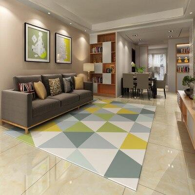 200cm 300cm big carpets High grade silk carpet floor mat door mat Living room bedroom coffee table bay window bedside blanket Ta in Carpet from Home Garden