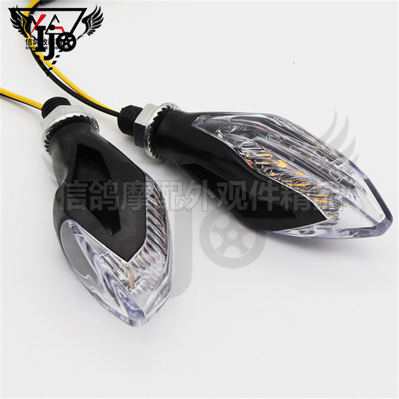 clignotant ampoule intermitentes para moto LED blinker turn signals motorcycles accessories stop light rear motorbike tail light