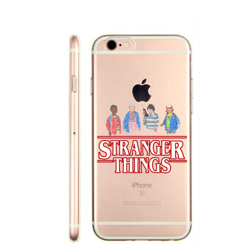online store a1a29 504a2 US $1.21 39% OFF|Phone Cases For iPhone SE 5 5S 6 6S 6Plus 7 7Plus 8 8Plus  X 10 Hard PC Phone Cases Stranger Things Christmas Lights Back Cases-in ...