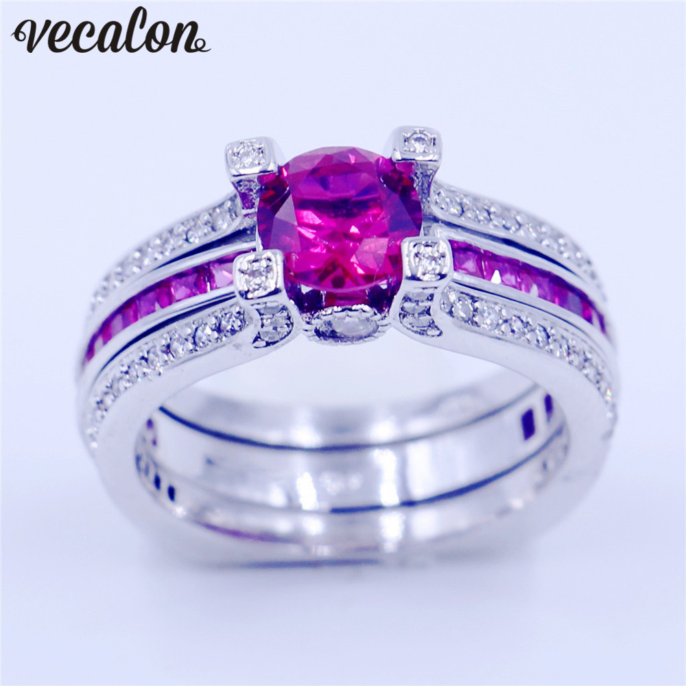 Diamonique Engagement Rings
