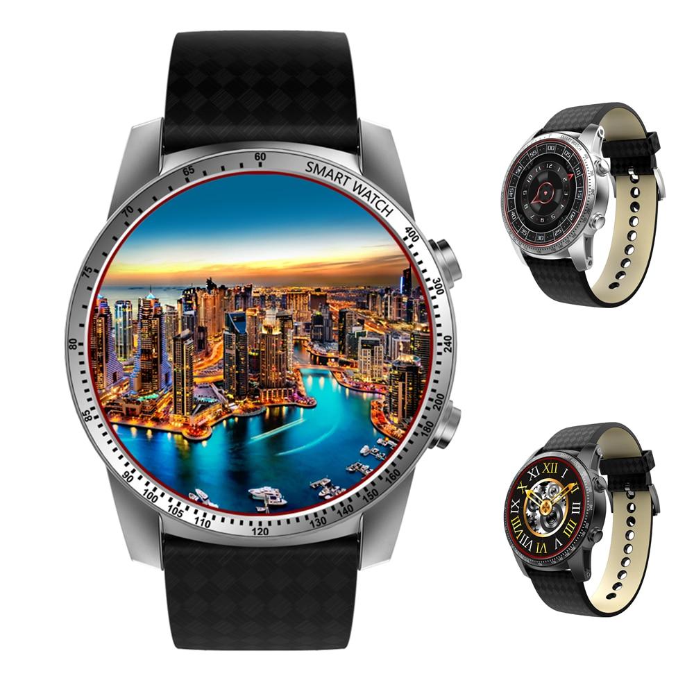 Jakcom New KW99 3G Smartwatch Phone Android 5.1 MTK6580 Quad Core 8GB ROM Heart Rate Monitor Pedometer GPS Anti-lost Smart Watch