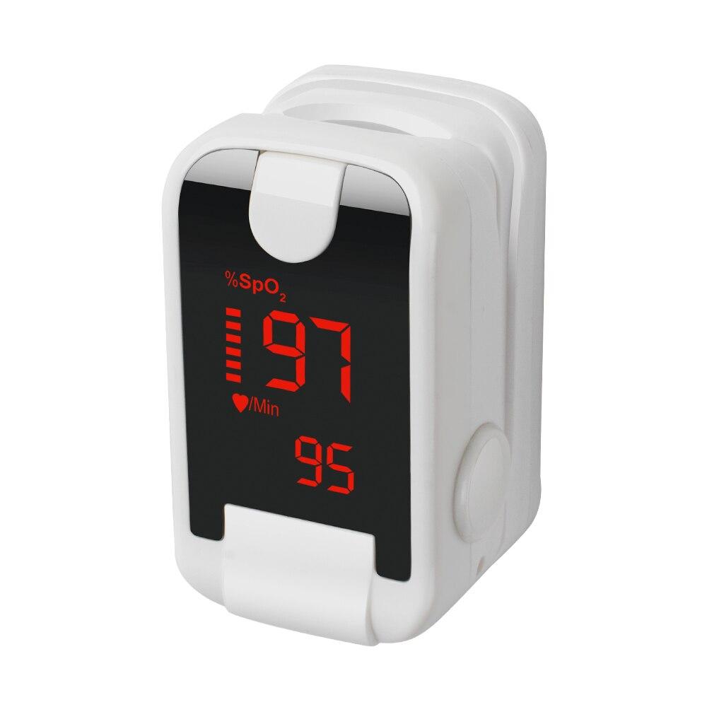 Gesundheit pflege CE & FDA LED Finger-pulsoximeter Blut Sauerstoff SPO2 PR Oximetro Monitor