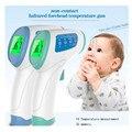 2016 Nuevo LCD Digital Termómetro Infrarrojo Bebé Multi-Función Sin contacto Frente Infrarrojo BodyThermometer Pistola (Sin batería)