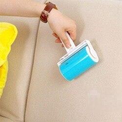 Моющиеся липкие волосы липкая одежда Липкая для шерсти пылеуловитель ковер листы сосание липкие пыли барабан