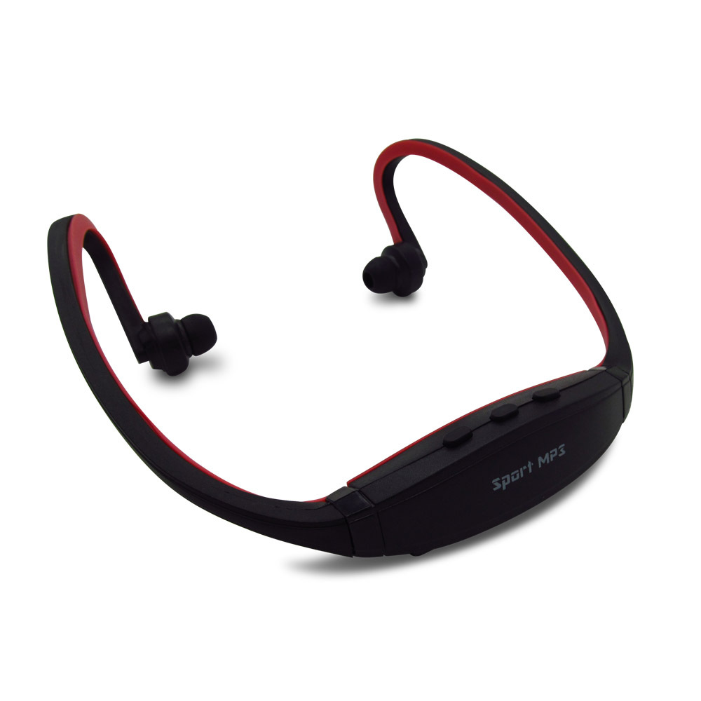 Hot Sell For 2016 Sport MP3 Player Radio FM Outdoor Head wearing MP 3 Players  Sports Earphone Music Support Micro SD TF Card-in MP3 Player from Consumer  ... d310f5c65e9d6