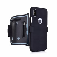 X Sports Mobile Phone Armband For IPhone X 7 8 5 5s Se 6 6s PLUS