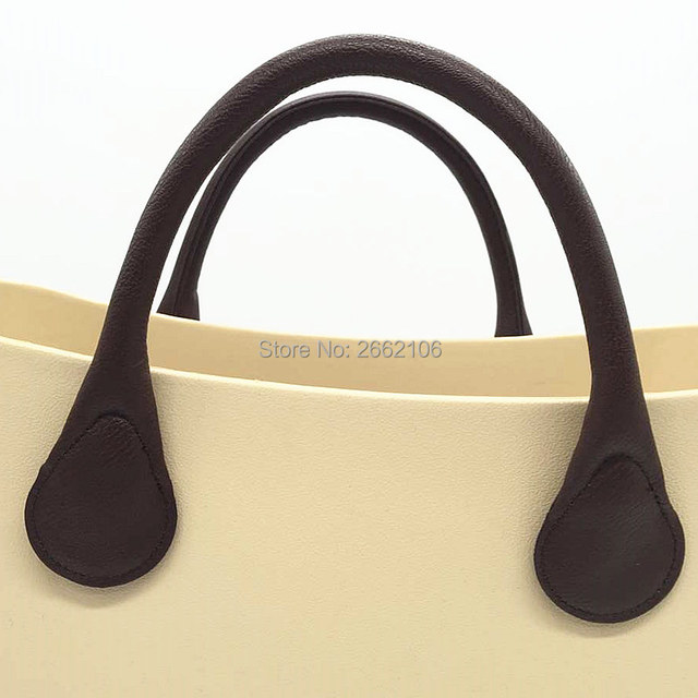 1f9326364e 45 cm PU leather 65cm bag handles for Mini Obag Rope Handle Strap for O Bag  Handles Bag Accessories For Women
