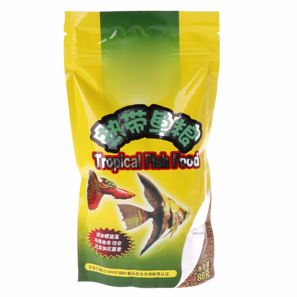 2019 New Aquarium Tank Tropical Fish Food Small Fish Feed Grain