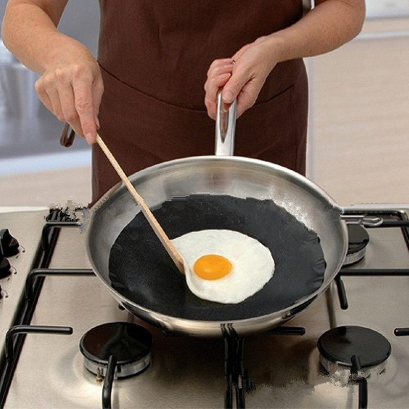 Non-stick Round Pan Mat Pan liner Sheet Kitchen Baking Pad Kitchen Baking Pad Cooking Liners BBQ Mats Kitchen Tool gadgets