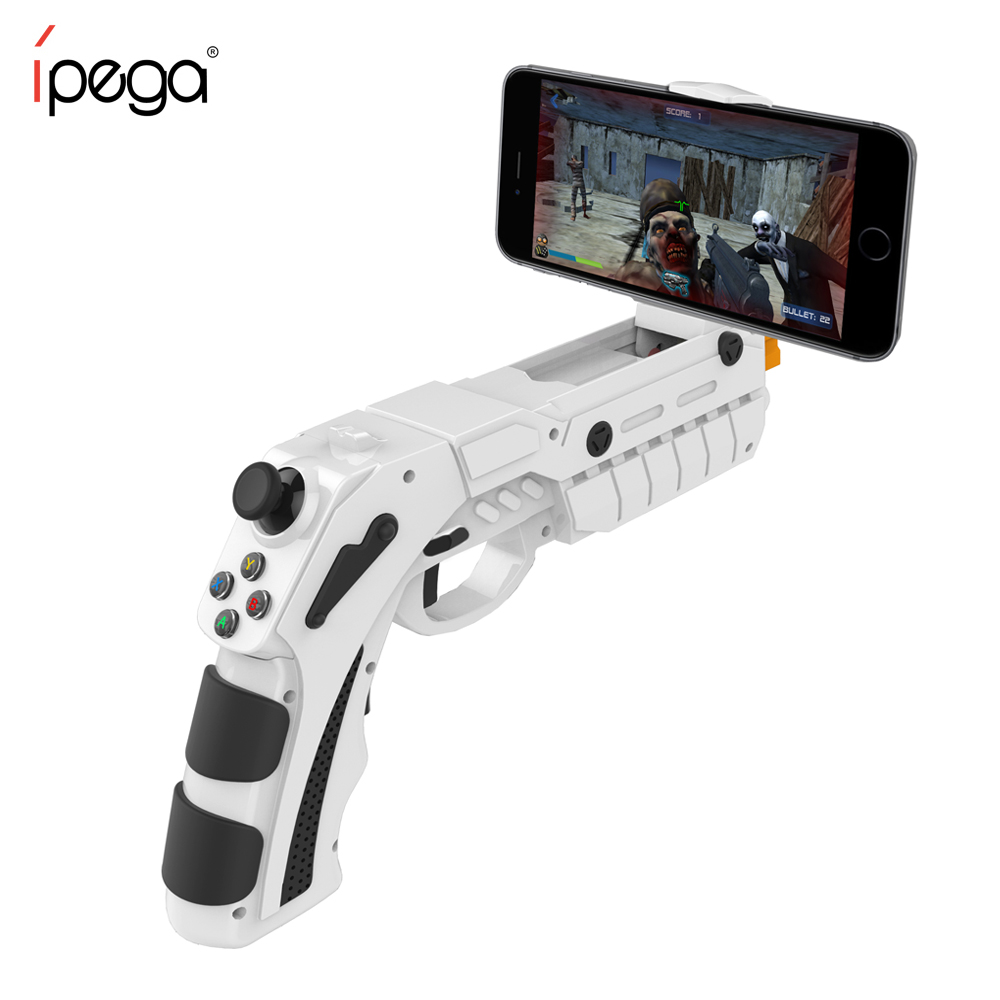 iPEGA PG-9082 Controle Para Celular Arma Gun Controller AR Mobile Gaming For Smart Phone Bluetooth Controller for Android Phone