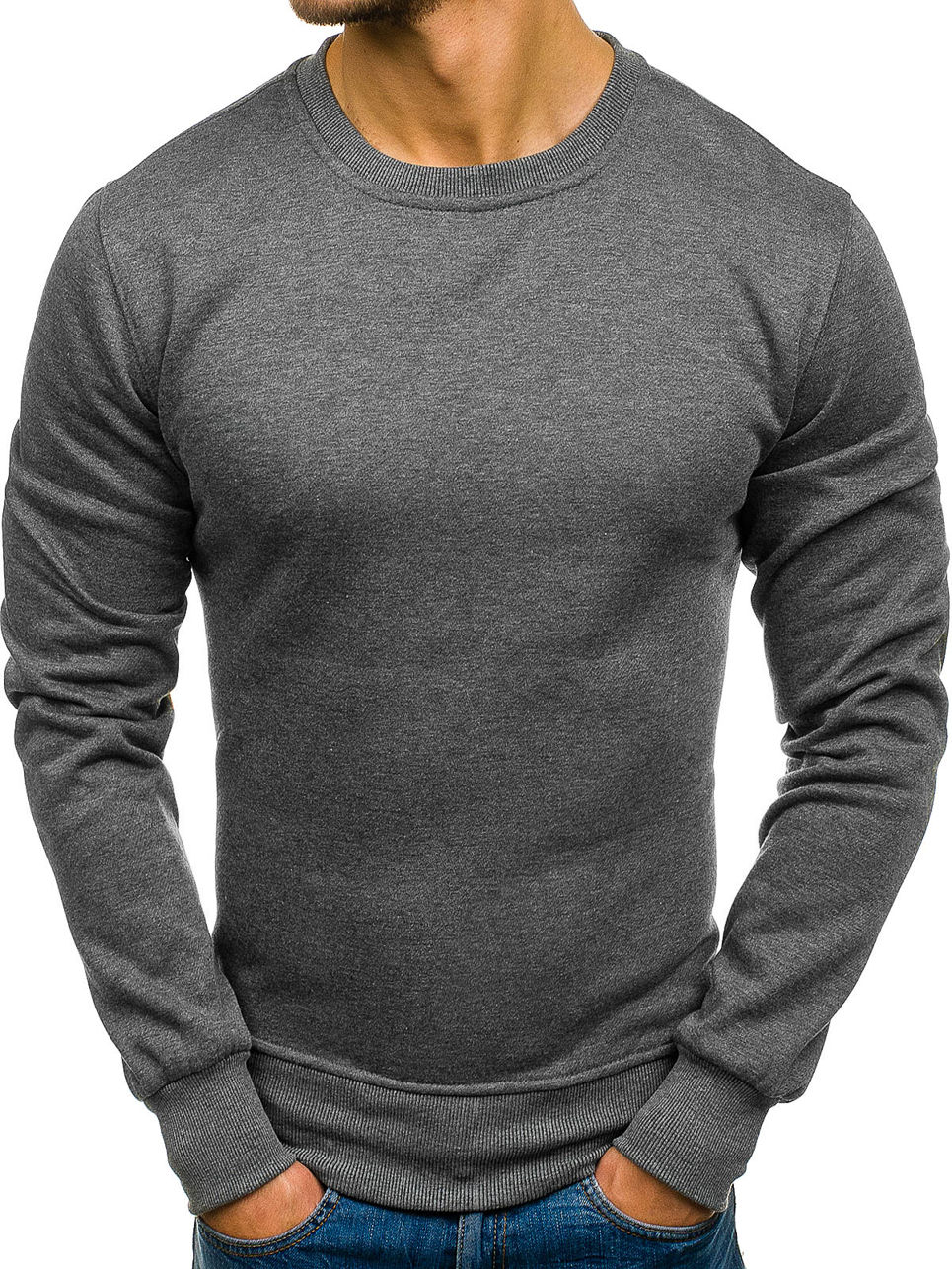 ZOGAA Men Thick T Shirts Long Sleeve Shirt Solid Color Cotton Casual Tshirt Clothing 2018 Streetwear Innercoat
