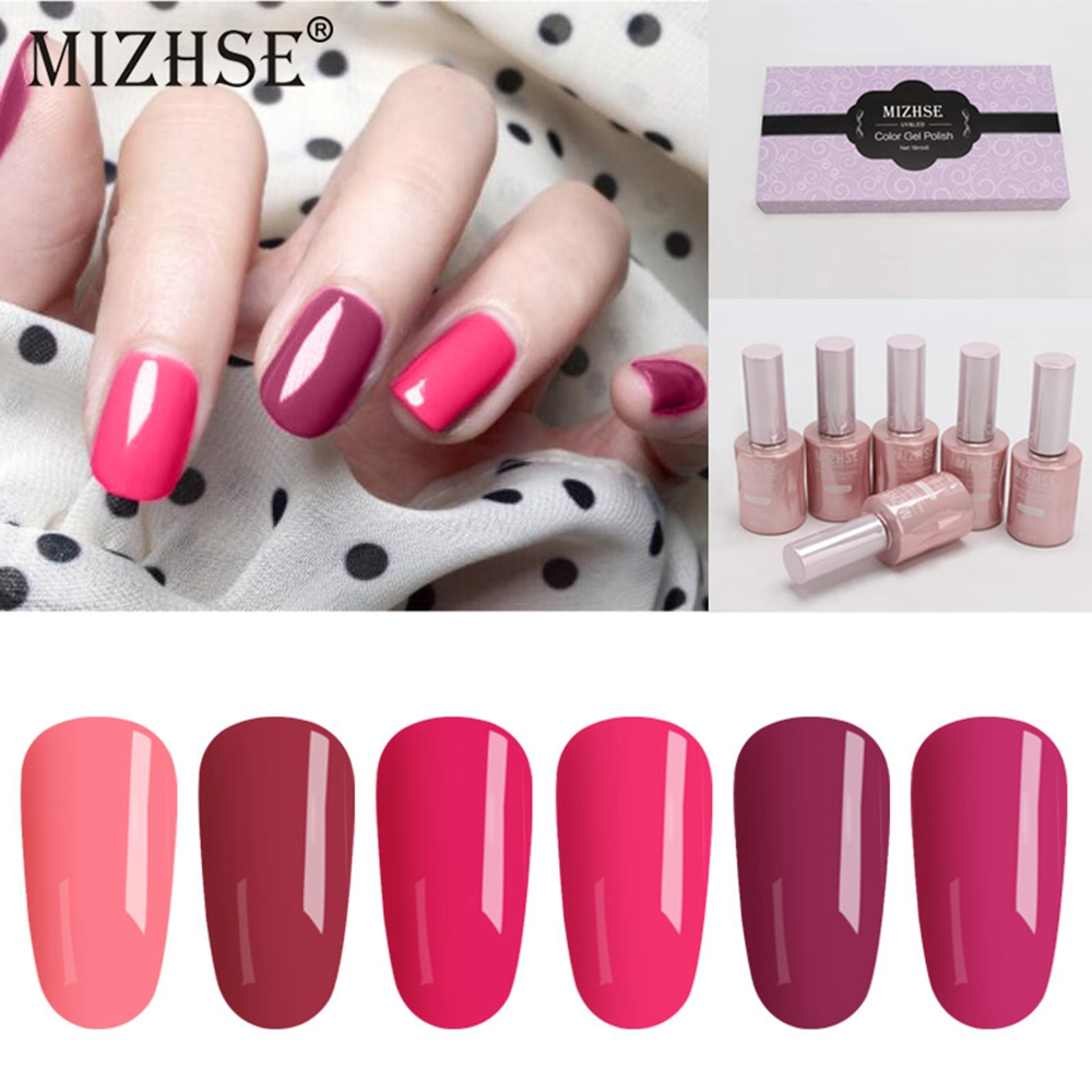 Have An Inquiring Mind Mizhse 18ml Rose Red Nail Polish Gel Lot Uv Hybrid Super Nail Gel Vernis Ongle Uv Led Reinfore Gel Polish All For Manicure Careful Calculation And Strict Budgeting Nails Art & Tools Nail Gel