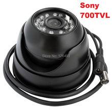 Free shipping Outdoor Indoor 1/3″ Sony Effio-e 700TVL mini dome cctv camera