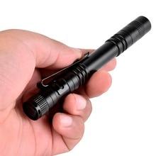 AKDSteel Mini CREE XPE-R3 Portable Pen Light LED Flashlight Torch Flash Light for Hunting Hiking Camping Lighting