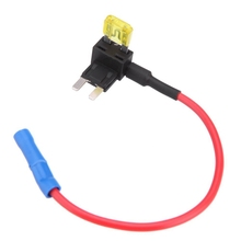 лучшая цена 2-Insert blade fuse adapter voltage tap for Automotive Fuses APS ATT Mini low profile