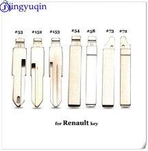 Полотно дистанционного ключа jingyuqin 10p #53 #54 #58 #72 #73 #152 #153 для Lada Renault Megan Dacia Clio Duster KD VAC102 VA2 HU83
