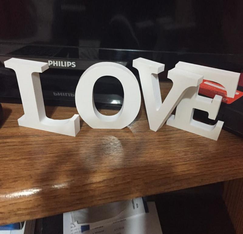 70bffda24048 Бесплатная доставка 10 см высотой серебряный кристалл любовь стоя любовь  вход свадьба украшение письмо
