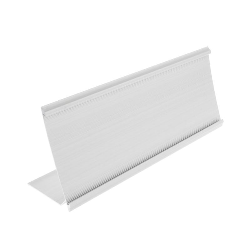2020 New Golden Silver Sign Aluminum Alloy Name Desk Plaque Holder Office School 9x24cm