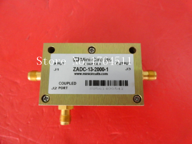 [BELLA] Mini ZADC-13-2000-1 0.8-2.5GHz Coup:13dB SMA Directional Coupler