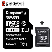 Kingston Memory Card Micro SD Card 32GB Class 10 Cartao de Memoria 32 GB Tarjeta Micro Flash SD TF Card with Microsd Adapter