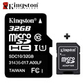 Original Kingston Memory Card Micro SD Card 32GB Class 10 Cartao de Memoria 32 GB Tarjeta Micro SD TF Card with Microsd Adapter