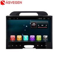 Asvegen Quad Core Android 6.0 Touch Screen Car Auto Audio Radio Multimedia Player GPS Navigation For KIA Sportage 2011 2015