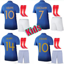 567df4e0d NEW France soccer jersey kids kit 1919 2019 Special Edition Centenary 100  years HENRY 19