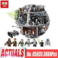 New Free Shipping LEPIN Star Wars Death Star 3804pcs Building Block Bricks Educational Toys Kits Compatible