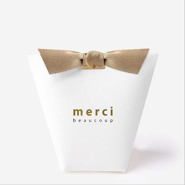50pcslot merci beaucoup white black color gift boxes paper cake box 50pcslot merci beaucoup white black color gift boxes paper cake box wedding favor boxes negle Gallery