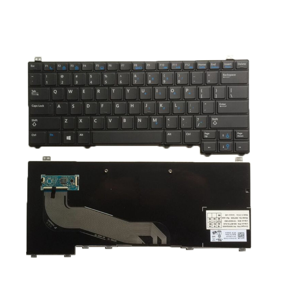 US Black New English Replace laptop keyboard For DELL For Latitude E5440 Y4H14-in Replacement Keyboards from Computer & Office on