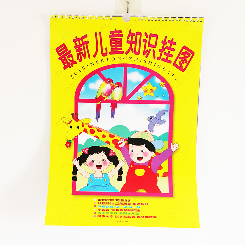 12Sheets/set Chinese Kids Enlightenment Chart Early Education Learning Chinese Characters/ Pinyin /Transportation/Animals...