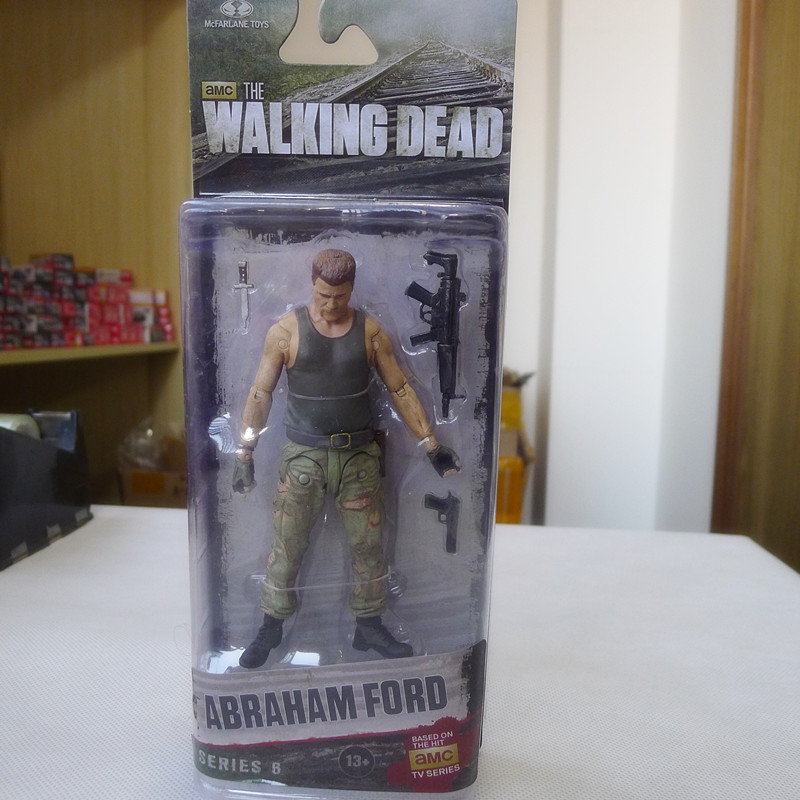 TT03-- McFarlane Toys AMC Walking Dead 5 Action Figure Abraham Ford New мегафон amc se116 продам киев