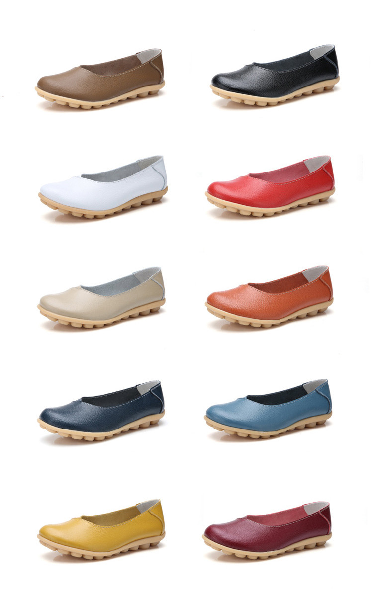 AH 5928-2019 Spring Autumn Woman Flats Casual Women Loafers-1