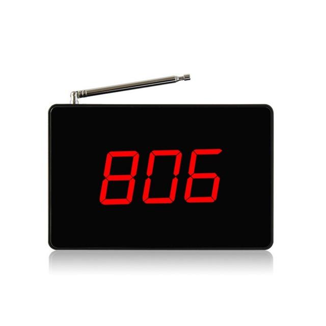 Singcall. wireless pager sistemas de chamada de enfermagem, número de led display, um receptor com a voz do relatório, alarmante em torno SC-R 15