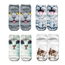 Cute harajuku animal socks summer korean cat bear rabbit funny low cut ankle sock happy sox