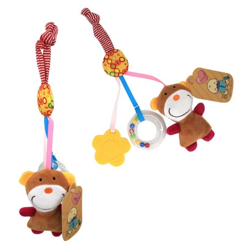 Vernuftig Baby Draaibank Opknoping Schort Speelgoed Kan Muziek Wieg Opknoping 0-1 Jaar Oude Kinderwagen Hanger Speelgoed Hebben Verschillende Patroon Laatste Mode