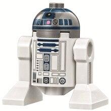 Venda única GUERRA ESTRELA R2D2 Robô C3PO A Força BB8 desperta Minifig Modelo de Montagem DIY Blocos de Construção Crianças Brinquedo de Aprendizagem presentes