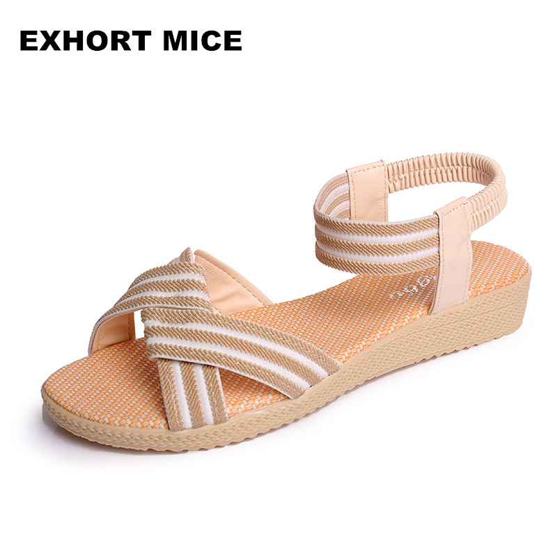 2018 Women sandals 2018 hot sale Bohemia style female summer sandals women comfortable flip flops women shoes lanyuxuan 2017 new hot sale sandals