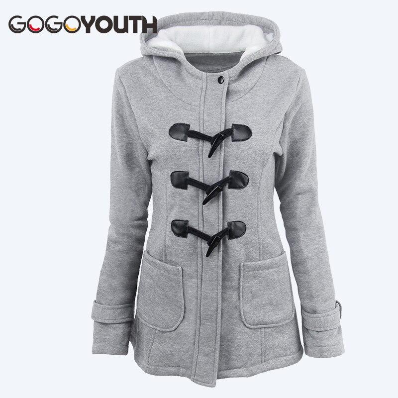 Gogoyouth Plus Size 6XL Spring Jacket Women