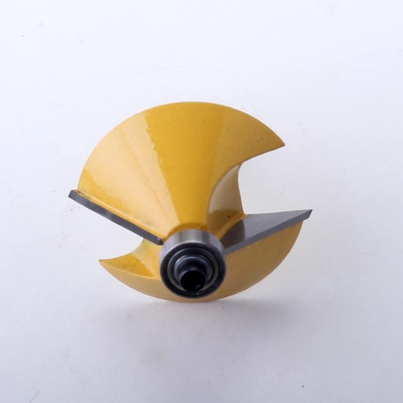 מזגנים רצפתיים 8mm Shank באיכות גבוהה 45 גדולים תואר chamfer & נתב חתוכים Bevel Bit עץ חיתוך פיסות הנתב נגרות כלי (3)