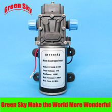 8L/Min. 9m Range 100W high pressure electric diaphragm pump for car washing,medical,chemical equipment,lawn and garden