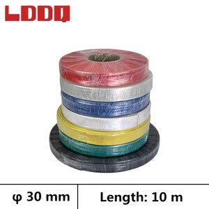 LDDQ 10m 3:1 Heat shrink tube adhesive with glue Diameter 30mm Cable sleeve Wire wrap Heatshrink tubing Waterproof makaron kablo