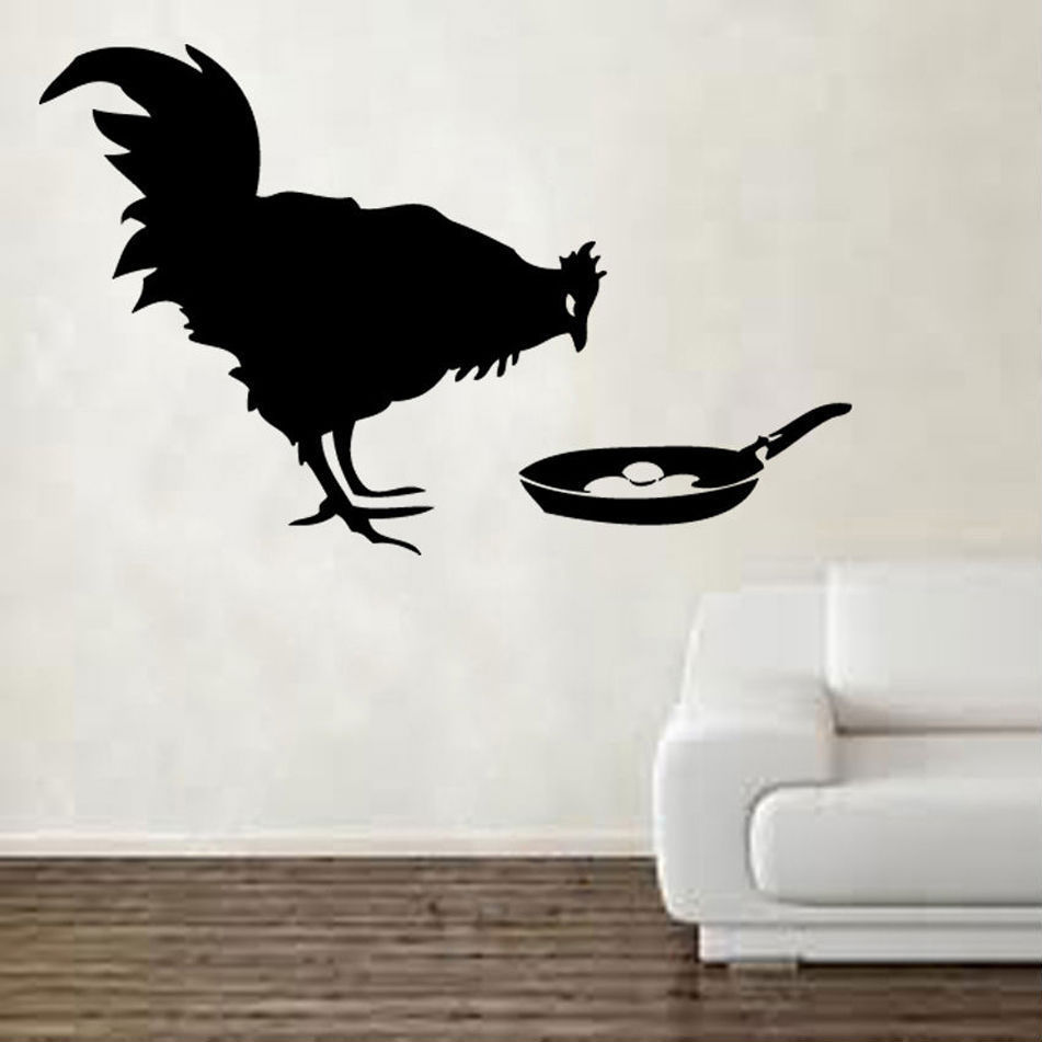 Banksy Chicken Egg Wall Decal Vinyl Sticker Home Decor Wall Art Mural Removable Decoration Animal Decals Transfer Stickers And Decals For Cars Stickers Shoetransfer Sticker Aliexpress