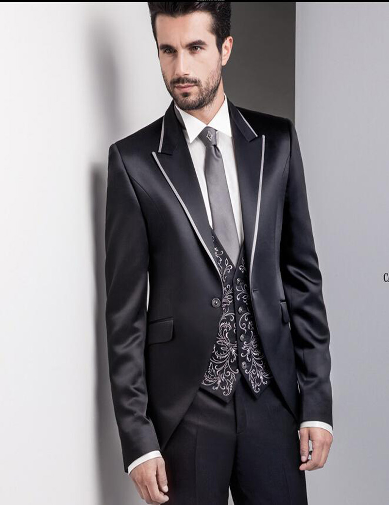 3 Piece Wedding Suits For Men - Ocodea.com