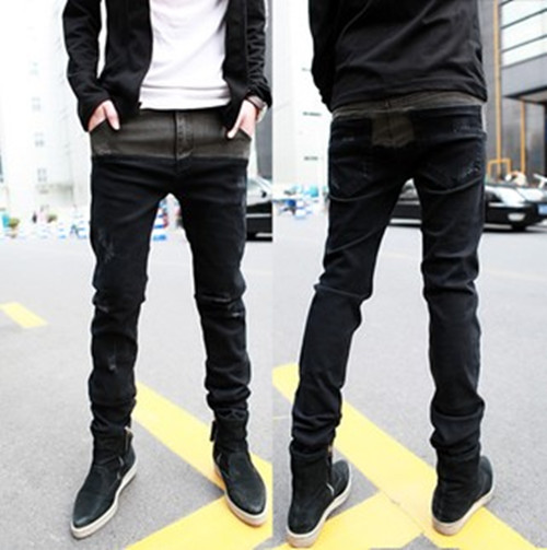 Aliexpress.com : Buy Free Shipping Jeans Men Skinny Ripped Slim
